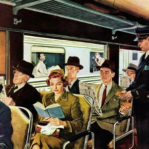 """""""This Does Not Commute"""", September 24, 1955 by George Hughes"""