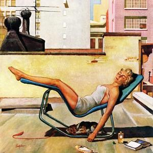 """""""Up On the Roof"""", May 9, 1959 by George Hughes"""