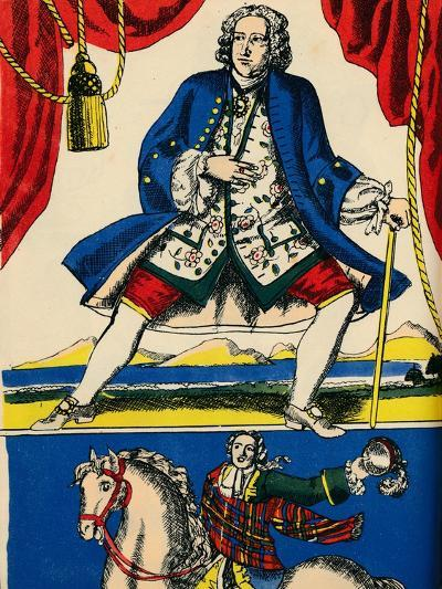 George II, King of Great Britain and Ireland from 1727, (1932)-Rosalind Thornycroft-Giclee Print