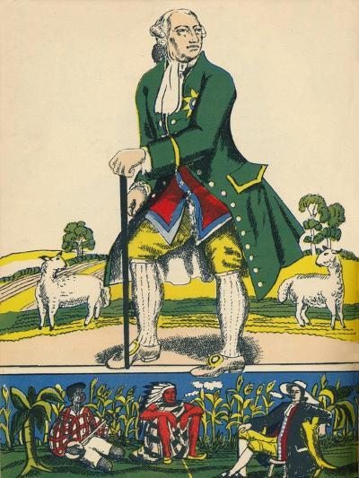 George III, King of Great Britain and Ireland from 1760, (1932)-Rosalind Thornycroft-Giclee Print