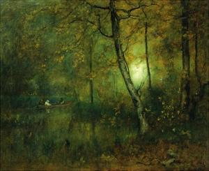 Pool in the Woods by George Innes