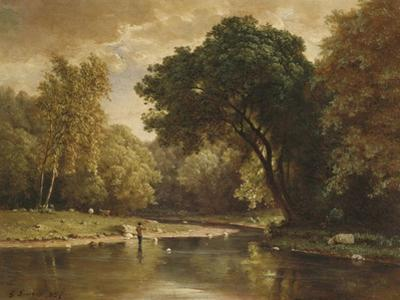 Landscape with Trout Stream, 1857