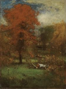 The Mill Pond, 1889 by George Inness Snr.