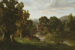 The Old Mill, 1849 by George Inness Snr.