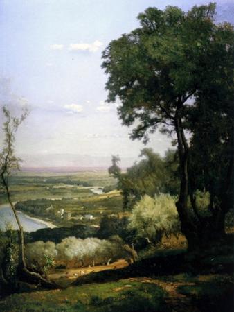 View of Perugia, Italy, 1872