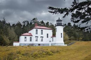 Admiralty Head Lighthouse by George Johnson