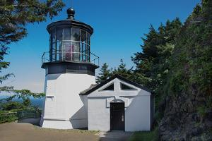 Cape Mears Lighthouse by George Johnson