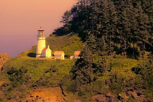 Heceta Head Lighthouse by George Johnson
