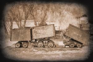 Mine Cars by George Johnson