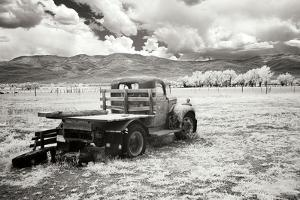 Truck in Field by George Johnson