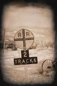 Two Tracks by George Johnson