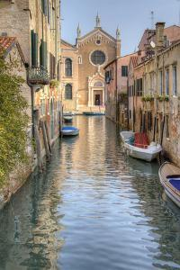 Waterways of Venice I by George Johnson