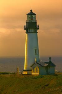 Yaquina Head Lighthouse by George Johnson