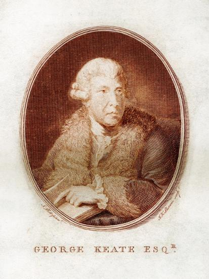 George Keate, Author, Painter and Friend of Voltaire, 1781-John Keyse Sherwin-Giclee Print