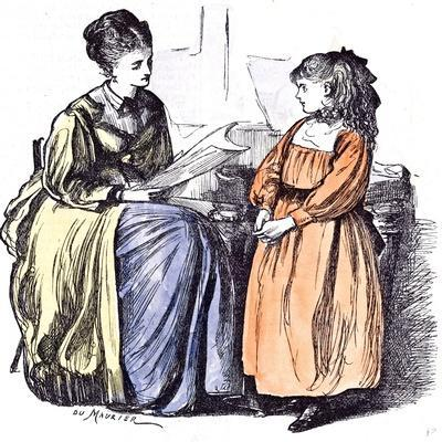 Girl and New Governess, 1874