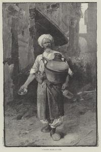 A Sherbet Seller at Cairo by George L. Seymour