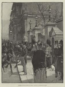 Illness of Prince George of Wales, Callers at Marlborough House by George L. Seymour