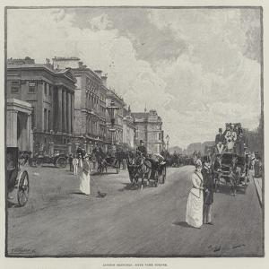 London Sketches, Hyde Park Corner by George L. Seymour
