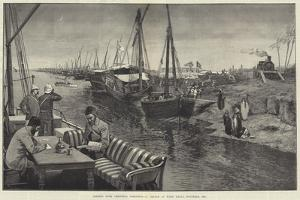 Sending Home Christmas Greetings, a Sketch at Wady Halfa, November 1884 by George L. Seymour