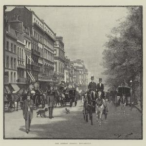 The London Season, Piccadilly by George L. Seymour