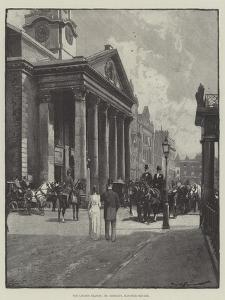 The London Season, St George's, Hanover Square by George L. Seymour