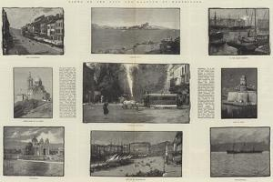 Views of the City and Harbour of Marseilles by George L. Seymour