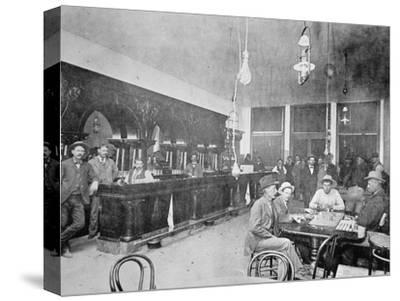 George Laman's Saloon in Jerome, Arizona Territory, 1897