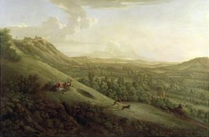 A View of Boxhill, Surrey, with Dorking in the Distance, 1733 by George Lambert