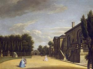 View of Chiswick Villa from the Back to the Inigo Jones Gate, 1742 by George Lambert