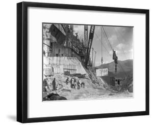 Yule Quarry - Crane and Power House Facilities of the Yule Marble Co., Near the Head of Yule… by George Lytle Beam