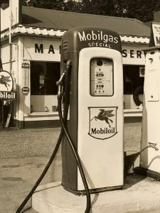 A Fuel Oil Pump at a Gas Station by George Marks