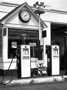 Gas Station by George Marks