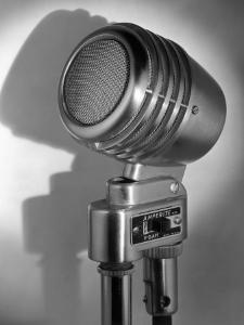 Microphone by George Marks