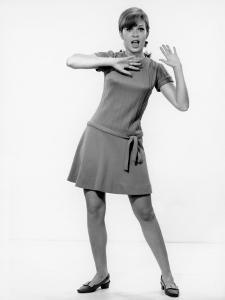 Mod Woman Dancing by George Marks