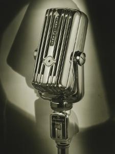 Vintage Microphone by George Marks