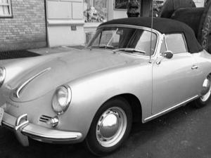 Vintage Porsche by George Marks