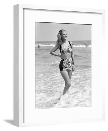 Woman in Surf
