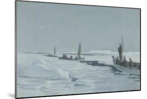 Sailing Towards Elephant Island Through Open Pack Ice, Weddell Sea by George Marston
