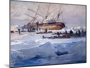 The Endurance Crushed in the Ice of the Weddell Sea, October 1915 by George Marston