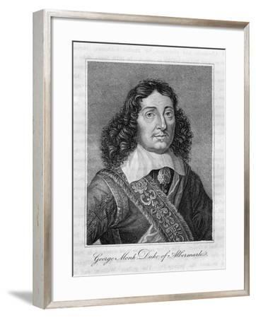 George Monck, Duke of Albemarle, 17th Century English Soldier--Framed Giclee Print