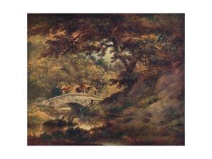 'A Woodland Scene', c1795 by George Morland