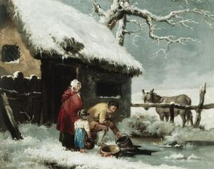 Breaking the Ice by George Morland