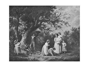 'Children Birdnesting', 1789, (1912) by George Morland