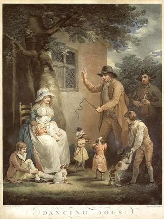 Dancing Dogs, C. 1800