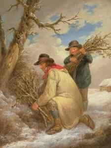Faggot Gatherers in the Snow by George Morland