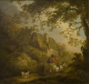Landscape and Cottage by George Morland