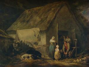 Morning, Higglers Preparing for Market, 1791 by George Morland