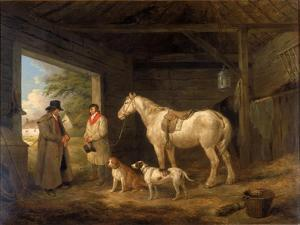 Paying the Ostler by George Morland