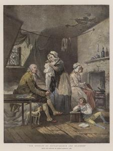 The Effects of Extravagance and Idleness by George Morland