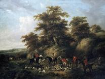 Dancing Dogs, C. 1800-George Morland-Giclee Print